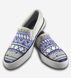 F-Gali The crafty aztec slip-on shoes Ca...