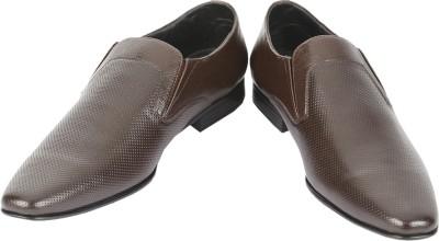 Shoe Bazar Brown Leather