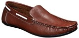 Red Rose Loafers (Brown)