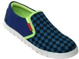 Leather Mart Canvas Shoes (Blue)