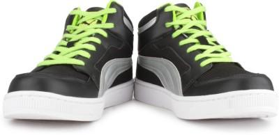 Puma Rebound Mid Lite DP Men High Ankle Sneakers(Black)