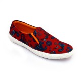 Brauch Casual Shoes (Orange)