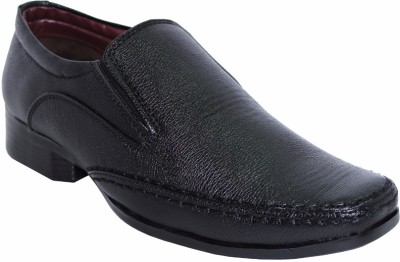 Alleviater Black Slip On Shoes