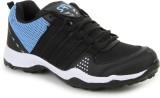SRV Track Running Shoes (Black, Blue)