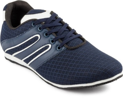 Big Wing Stylish GS Navy Canvas Shoes