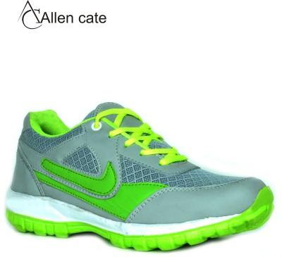 Allen Cate Stylish Grey Cycling Shoes, Running Shoes, Hiking & Trekking Shoes(Green)