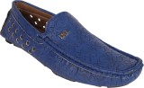 11e Slip On Style Loafers Loafers (Blue)