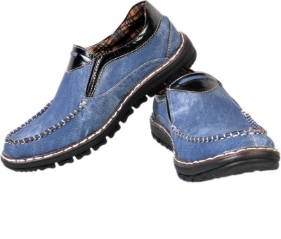 Stylords Cool Blue Casual Shoes