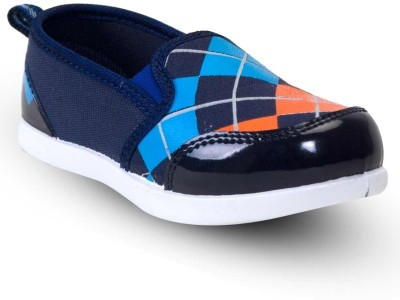 Happy Feet Checker Casual Shoes