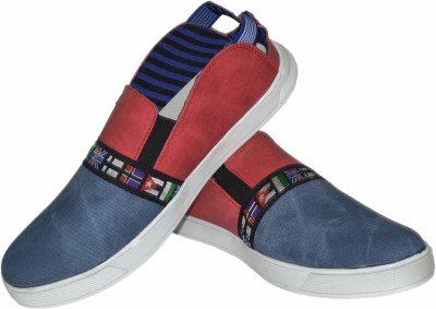 Strive Flags Printed Canvas Shoes