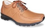 Sapatos Genuine Leather stylish Tan Outd...