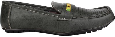 Zibal GreenLoafers01 Loafers