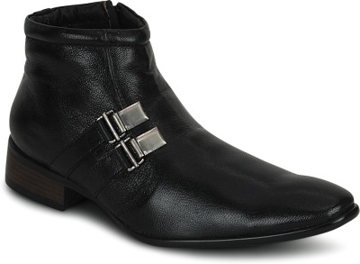 Kielz Kielz Black Zipper Stylish Boots Boots