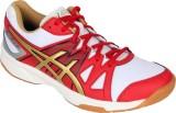 Asics Gel-Upcourt Badminton Shoes (White...