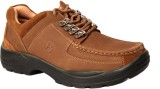 Sole Strings Mens Casual Shoes (Brown)