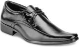Yepme Black Lace Up Shoes (Black)
