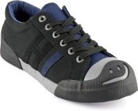 DeVEE Always Keep Smiling Black-Grey Sneakers(Black, Grey)