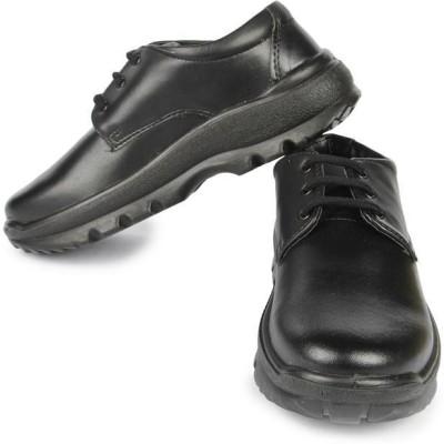 Liberty Skolteam-L-Black Lace Up Shoes