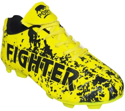 Port Fighter-Lime Football Shoes