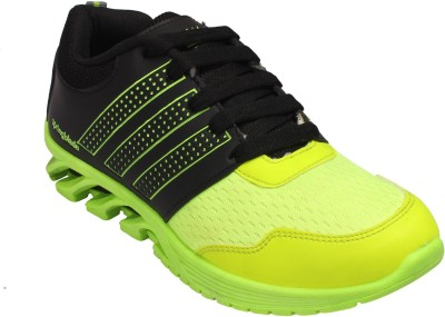 JABRA SpringBlade P. Green Running Shoes