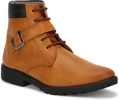 Opancho 0015 Brown Premium Quality Boots