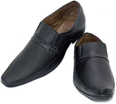 Leather Like Slip On Shoes
