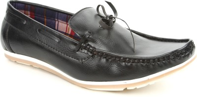 Urban Woods 851-6207-Black Loafers