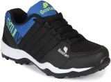 Bostan Running Shoes (Black, Blue)