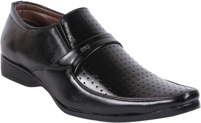 Quarks Formal Perforated Slip On Shoes