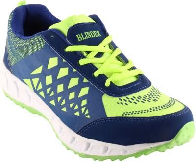 Blinder Men,s CR-001-P.GRN-N.BLUE Running Shoes