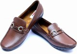 Loddx Men's Loafers (Brown)