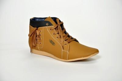 Ztoez Brown Boots