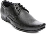 Ten Black Faux Leather Formal Shoes Lace...