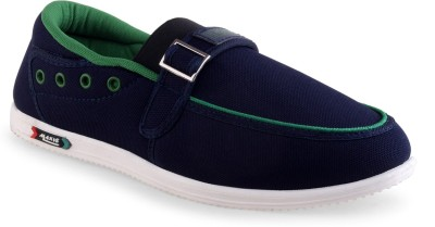 Go Run Maxis Maxis MX-61 Blue Green Loafers Loafers