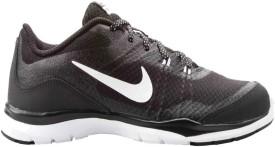 Nike Flex Trainer 5 Running Shoes(Black, White)