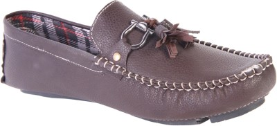 karizma shoes KZ10037Brown Loafers