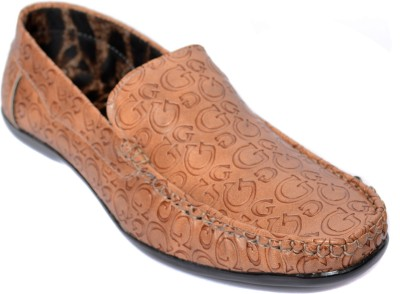 Kamil Tan Loafers