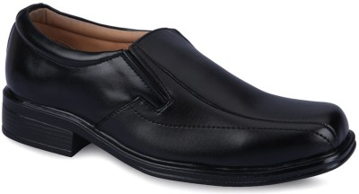 Force Hill 3861 Black Slip On Shoes