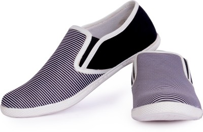 Sam Stefy White Black Casual Shoes