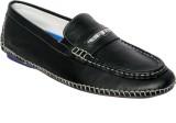 Styfort Black Genuine Leather Loafers (B...