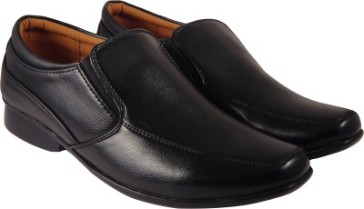 Action Synergy PL4476 Black Formal Slip On(Black)