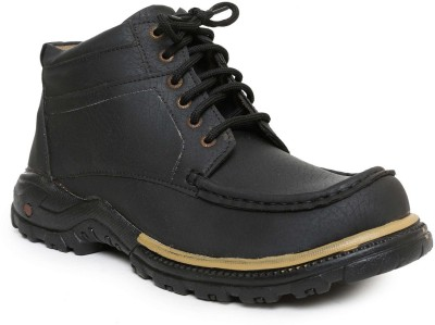 Romanfox 100060-Casual-Black Boots