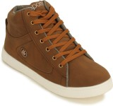 Zatox Chrome Casuals Shoes (Brown)
