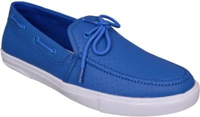 M & M BLUE Boat Shoes