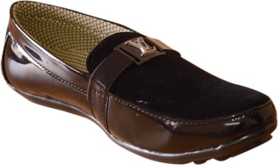 3 Wolves Velvety Touch Loafers