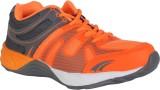 Danr Running Shoes (Grey, Orange)