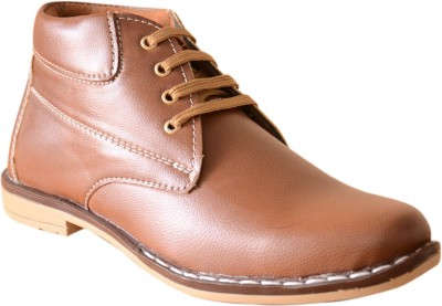 3 Wolves Tan Facer Boots