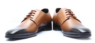 Cheraj Party Wear Shoes(Tan, Black)