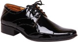 Haroads Party Wear Lace Up Shoes (Black)