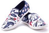 Maxis Cool Black Mocassins Canvas Shoes ...